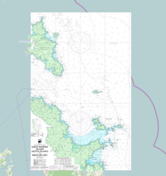 NZ Hydrographic Chart number NZ531