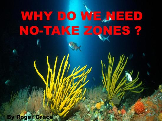 Why Do We Need No-take Zones for Marine Spatial Plan Dr Roger Grace (1)
