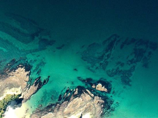 Pukenihinihi Reef (fished area), urchin barrens extensive