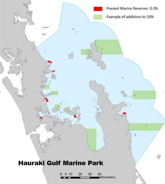 We are lagging behind in the sea with only 6 marine reserves covering 0.3% of the Gulf